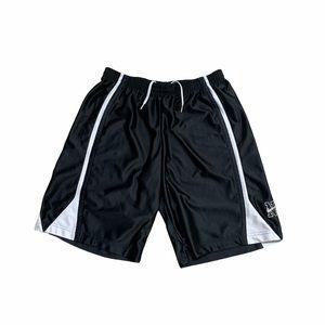 2000s Black/White Nike Athletic Shorts